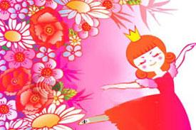 قصه کودکانه ملکه گل ها