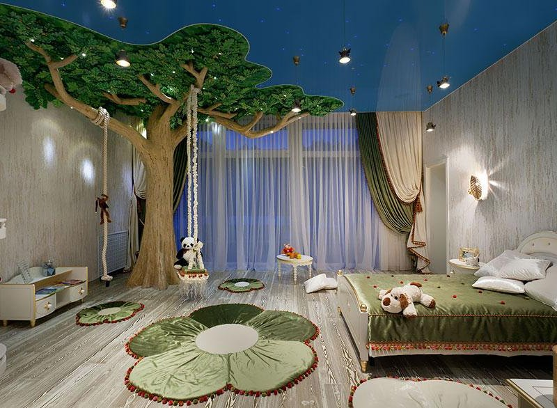 طراحی دکور اتاق کودکان متناسب با استعداد ذاتی