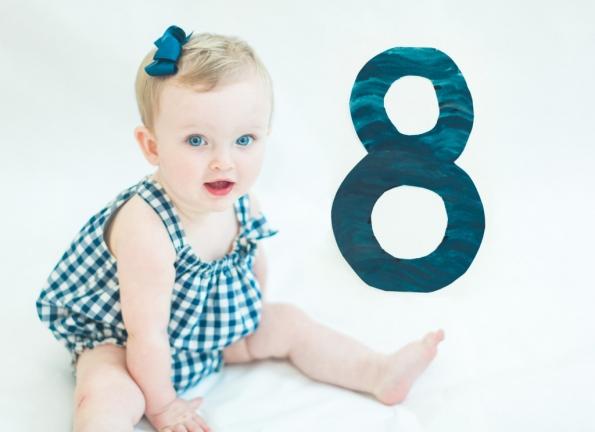 مراحل رشد کودک(ماه هشتم زندگی)
