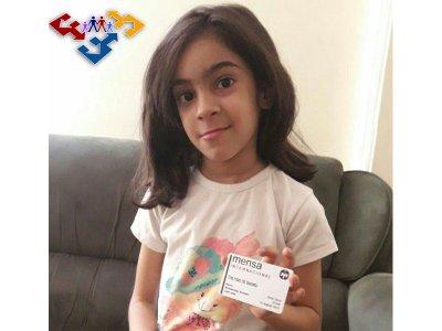 الناز زارعی دختر 6ساله با توانمندی بالا در سطح بین المللی