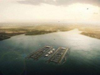 طرح پیشنهادی برای ساخت فرودگاه شناور در لندن