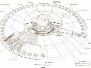 انتشار طرح های ساخت بشقاب پرنده پس از ۵۶ سال