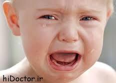 چرا کودکان گریه می کنند؟