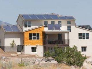 خانه ای که تمام انرژی مورد نياز خود را توليد می کند