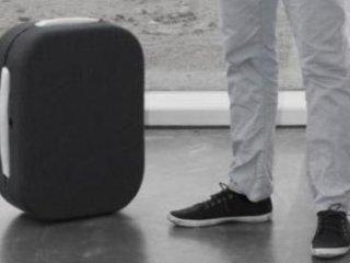 چمدان مسافرتی که صاحبش را دنبال می کند