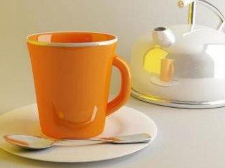 فنجان های نارنجی نوشيدنيها را لذيذ تر ميکنند