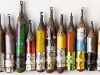 هنرنمايی روی نوک مداد