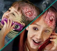 مضرات تلفن همراه بر روي بدن انسان