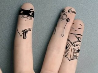 روانشناسي انگشتان دست