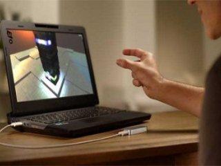اشيای مجازی را در هوا لمس کنيد