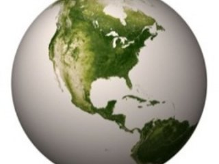 نقشه پوشش گياهی کره زمين