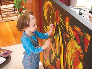تاثير هنر بر خلاقيت کودکان در آينده